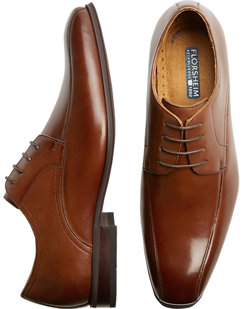 Florsheim Francisco Tan Bike-Toe Oxfords (Tan / Black)
