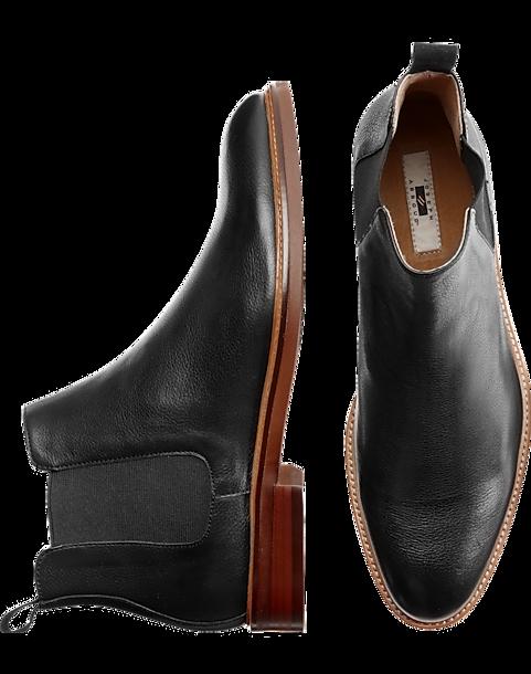 0d0551d0397c Joseph Abboud Gates Black Chelsea Boot - Men's Shoes | Men's Wearhouse