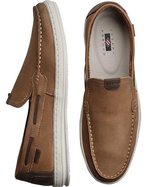 792e9722c20 Joseph Abboud Softee Tan Boat Shoes - Men s Casual Shoes