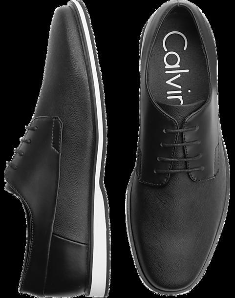 10025665ca6 Calvin Klein Wilfred Black Oxfords - Men s Dress Shoes