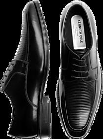 69fbd8511ef1 Mens Shoes - Kenneth Cole TECHNI-COLE Elliot Black Apron Toe Dress Shoes -  Men s