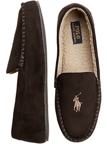 eb37a9be197 Polo Ralph Lauren Dezi IV Brown Slippers