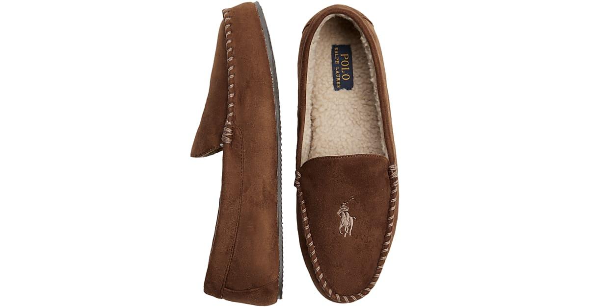704ba64c10 Polo Ralph Lauren Dezi IV Tan Slippers - Men s Slippers