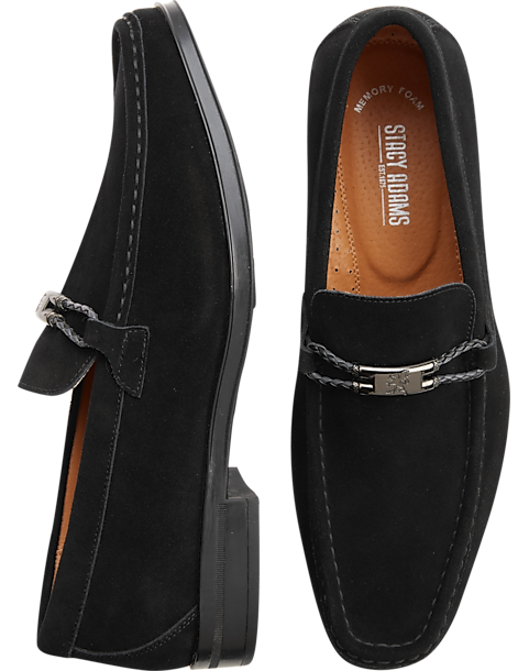 cd6c645fc8f Stacy Adams Neville Black Moc Toe Loafers. Today  30% Off Shoes (Price  reflects discount)