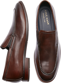 Cole Haan Aerocraft Grand Venetian Chestnut Loafers