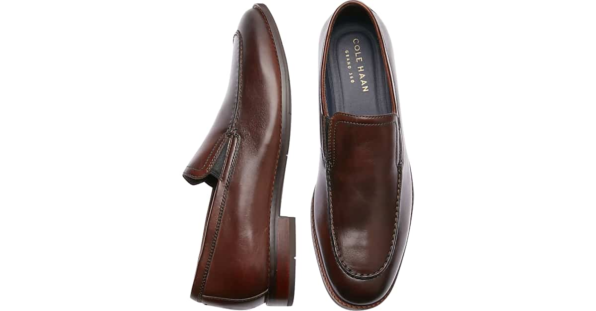 official price sports shoes reasonably priced Cole Haan Aerocraft Grand Venetian Chestnut Loafers - Men's Shoes | Men's  Wearhouse