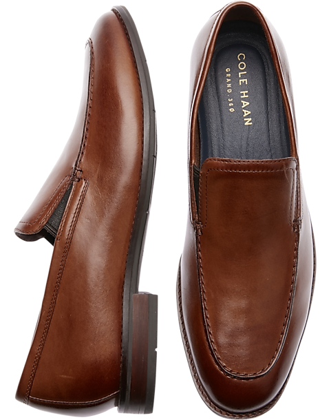 Buy Authentic 2019 real special selection of Cole Haan Aerocraft Grand Venetian Tan Loafers