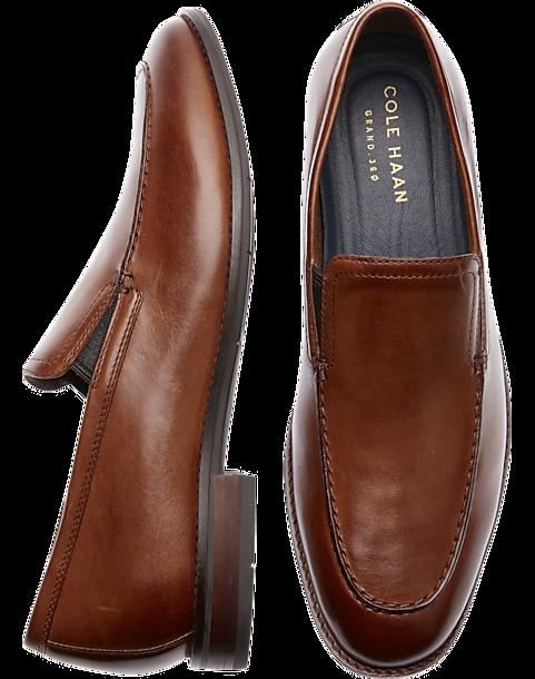 20f5ffd9e Cole Haan Aerocraft Grand Venetian Tan Loafers - Men's Shoes   Men's ...