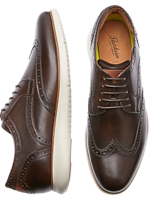 6f4b1ef5 Florsheim Solar Brown Wingtip Shoes