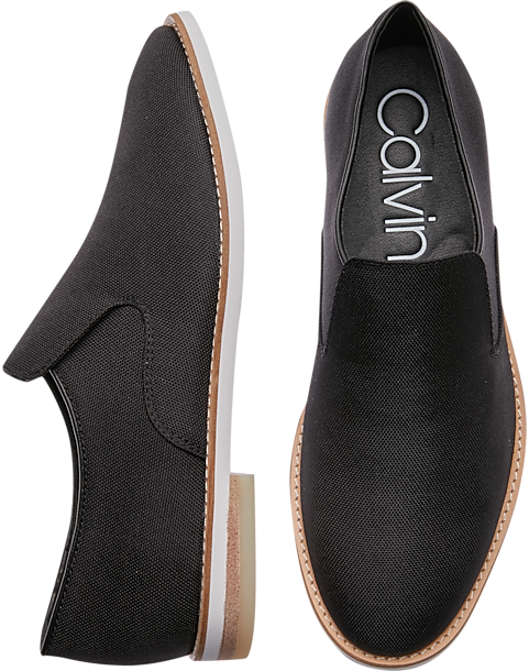 c17c99b2af4 Calvin Klein Alfie Black Loafers. 30% Off Shoes (Price reflects discount)
