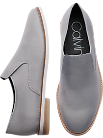 85e590335b7d Calvin Klein Alfie Gray Loafers