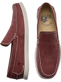 863368455bae Mens Home - Margaritaville Camillo Red Canvas Loafers - Men s Wearhouse