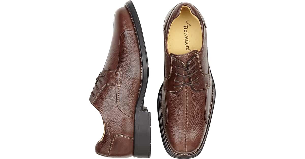 9381bd23a8 Brown Dress Shoes - Men's Dress Shoes - Belvedere Bay Bridge   Men's  Wearhouse