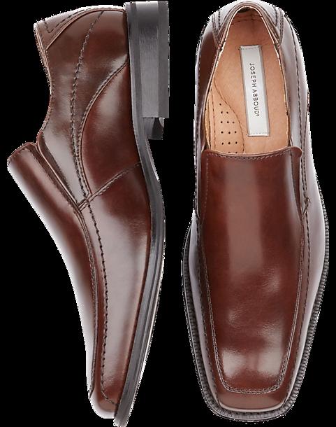 joseph abboud brown slip on shoes s dress shoes