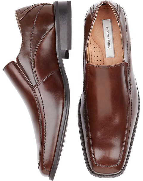 7e0d7c4772521 Joseph Abboud Brown Slip-On Shoes - Men s Shoes