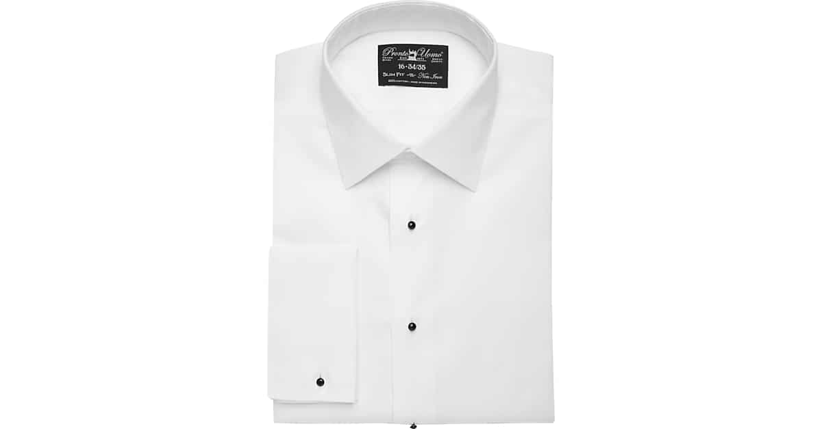 Tuxedo shirts tux shirts formal shirts men 39 s wearhouse for Mens formal white shirts