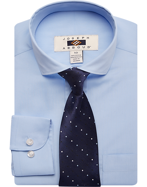 Blue Boys Dress Shirt