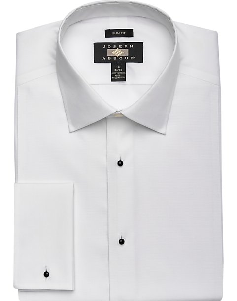 090176c1a363 Joseph Abboud White Slim Fit Tuxedo Dress Shirt - Men's Shirts ...