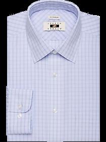 Joseph Abboud Pink & Blue Check Dress Shirt