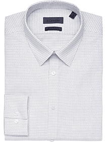 Calvin Klein Black & White Check Extreme Slim Fit Dress Shirt