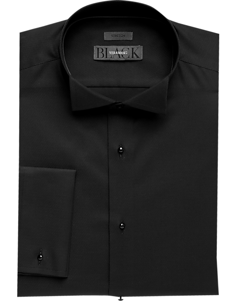 Vera Wang Formal Shirt (Black)