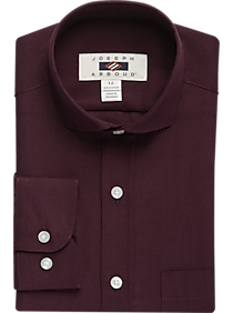 c4c7e8aa4921 Mens Home - Joseph Abboud Boys Burgundy Dress Shirt - Men's Wearhouse
