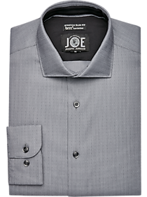 f4a4bd56 Mens Performance, Featured - JOE Joseph Abboud brrr° Black Slim Fit Dress  Shirt -