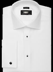 00b4d1bfa Mens Shirts - Joseph Abboud White Tuxedo Formal Shirt - Men's Wearhouse