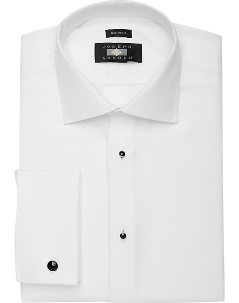 13bf79331e1d Joseph Abboud White Tuxedo Formal Shirt - Men's Shirts | Men's Wearhouse