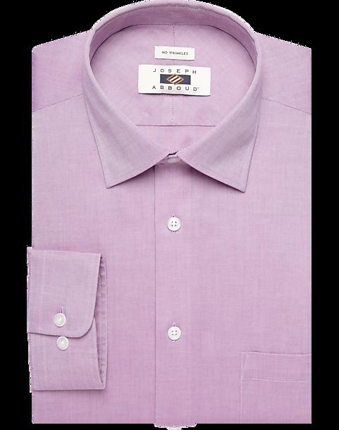 f1d2aa257bbc Joseph Abboud Fuchsia Dress Shirt - Men's Shirts   Men's Wearhouse