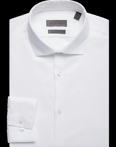 af219f980 Calvin Klein Infinite White Non Iron Extreme Slim Fit Dress Shirt ...