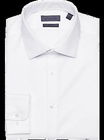good fantastic savings timeless design Calvin Klein Infinite Non Iron Classic Fit White Stretch Dress Shirt