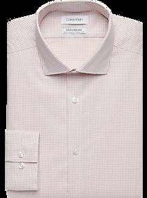 aa94bab3 Mens 3 For $99.99 Dress Shirts, Clothing - Calvin Klein Infinite Non-Iron  Orange