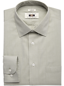 2527a651 Joseph Abboud Olive Dress Shirt