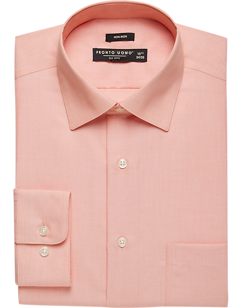 Coral colored dress shirts