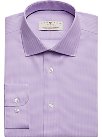 los angeles best place selected material Joseph Abboud Voyager Lavender Check Dress Shirt