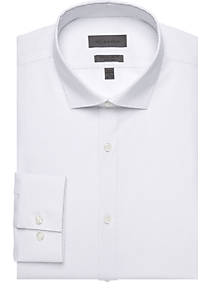 1fba9a37 Mens Home - Calvin Klein White Dots Extreme Slim Fit Dress Shirt - Men's  Wearhouse
