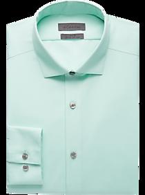 d62efcfc5b31ec Mens Home - Calvin Klein Infinite Mint Green Non-Iron Dress Shirt - Men s  Wearhouse