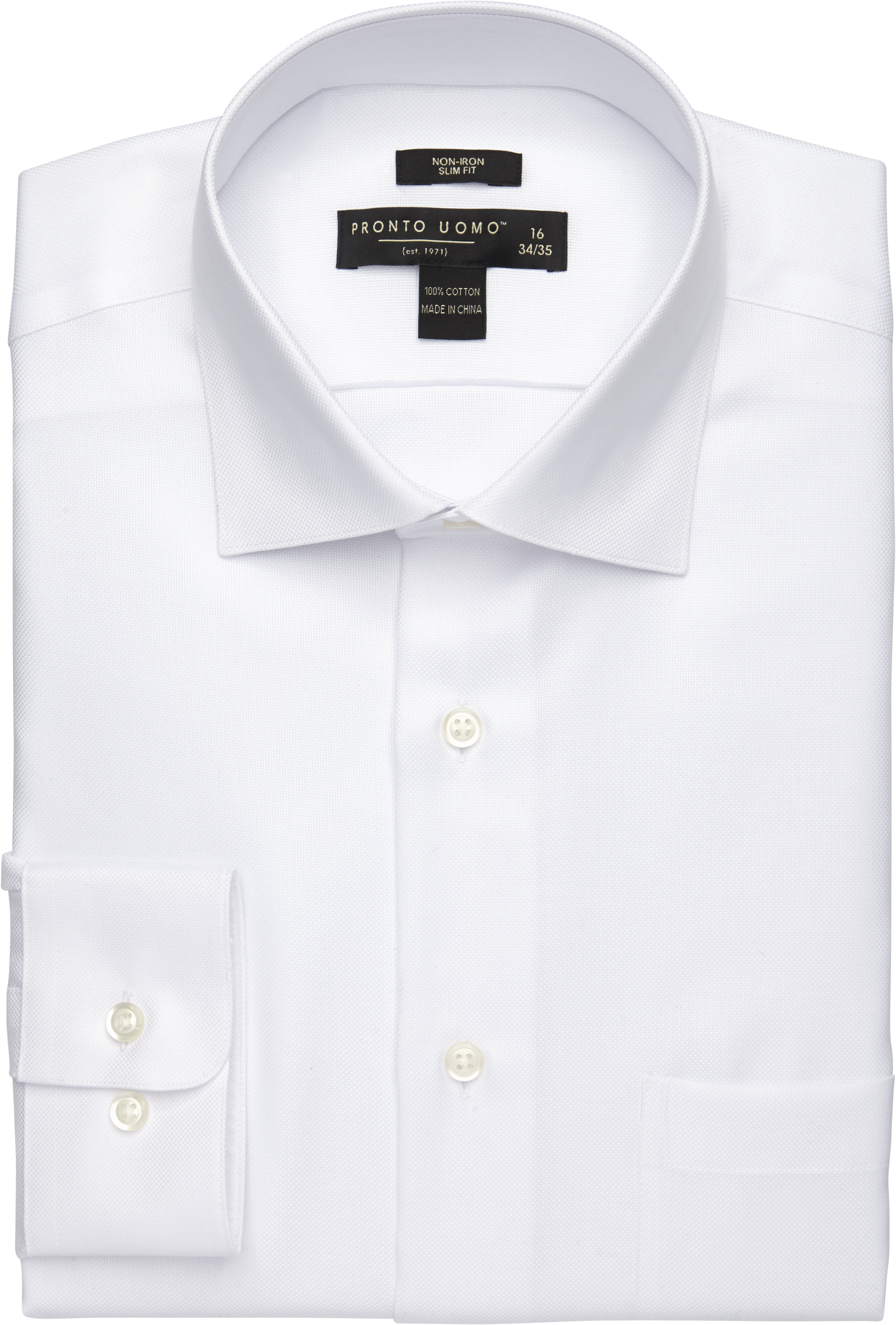 Pronto Uomo White Queen s Oxford Slim Fit Dress Shirt - Mens Home - Men s  Wearhouse aa7f92a13