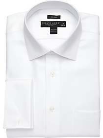 White French Cuff Dress Shirt | Mens Wearhouse