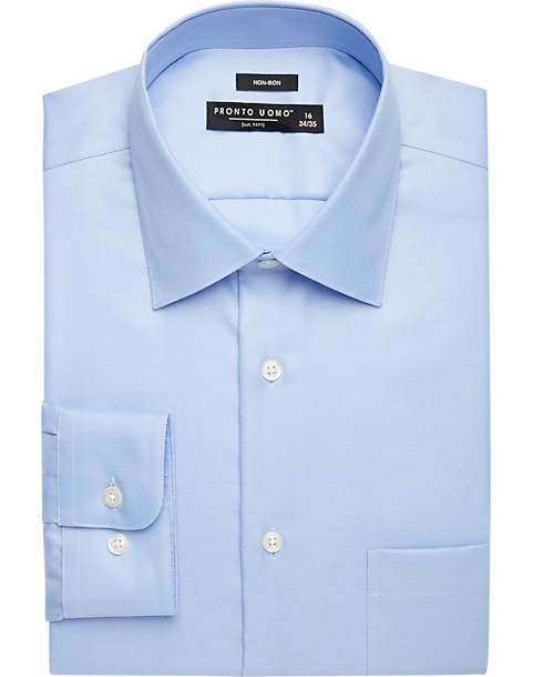 Pronto Uomo Light Blue Dress Shirt Men 39 S Dress Shirts