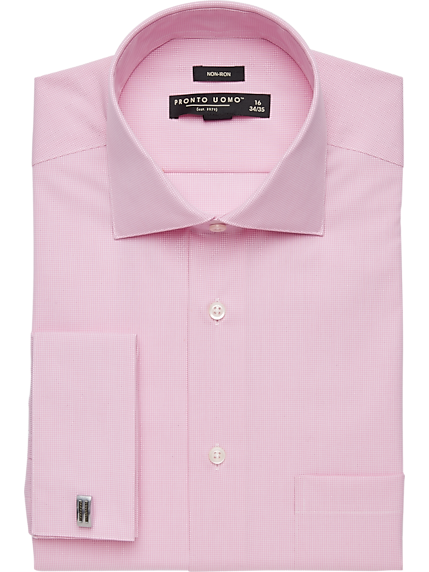 Mens Pink Dress Shirt | Mens Wearhouse