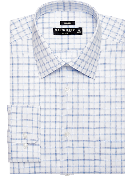 Plaid Dress Shirt | Mens Wearhouse
