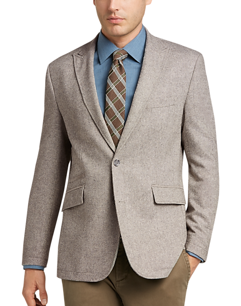 Joseph Abboud Gray Casual Coat