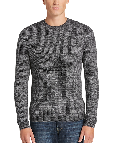 5acbede774 JOE Joseph Abboud Charcoal Crew Neck Sweater - Men s Sale ...