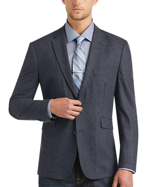 Joseph Abboud Navy Casual Coat - Men's Casual Coats | Men's Wearhouse