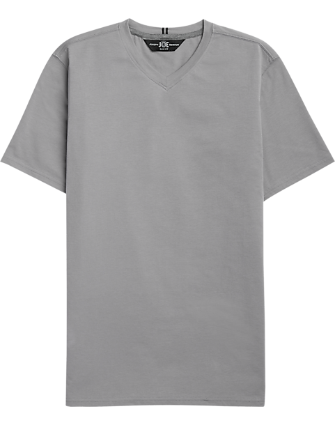 cc3c25797e25 JOE Joseph Abboud Light Gray T-Shirt - Men's Shirts | Men's Wearhouse