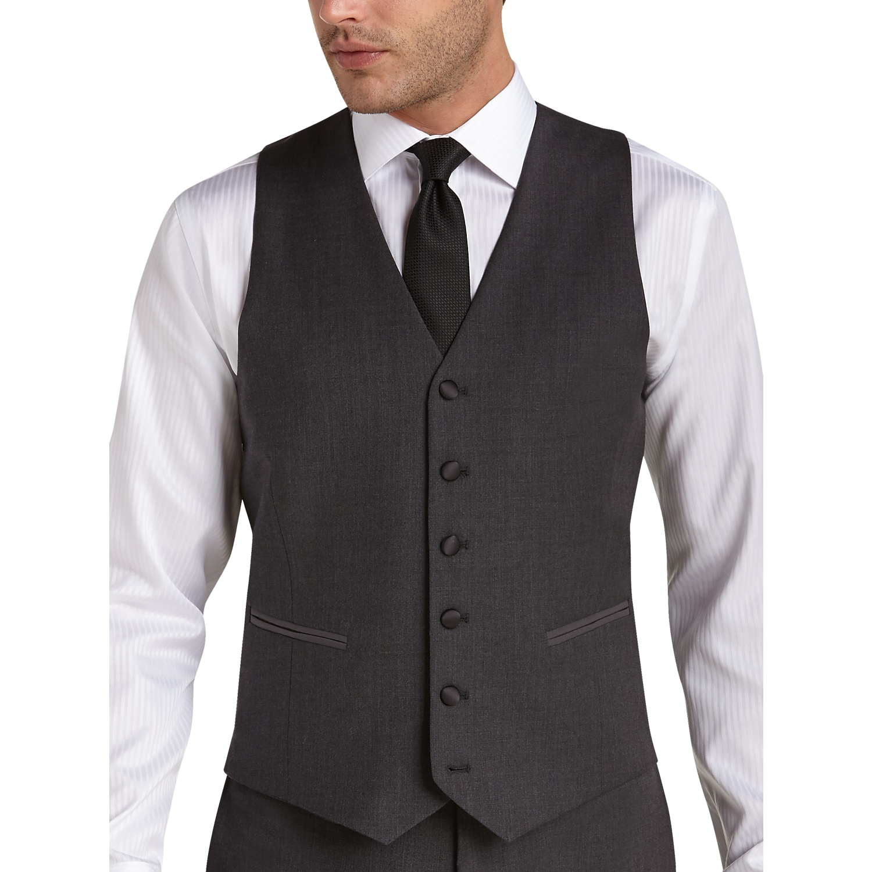 Horizon Blue Vest And Tie