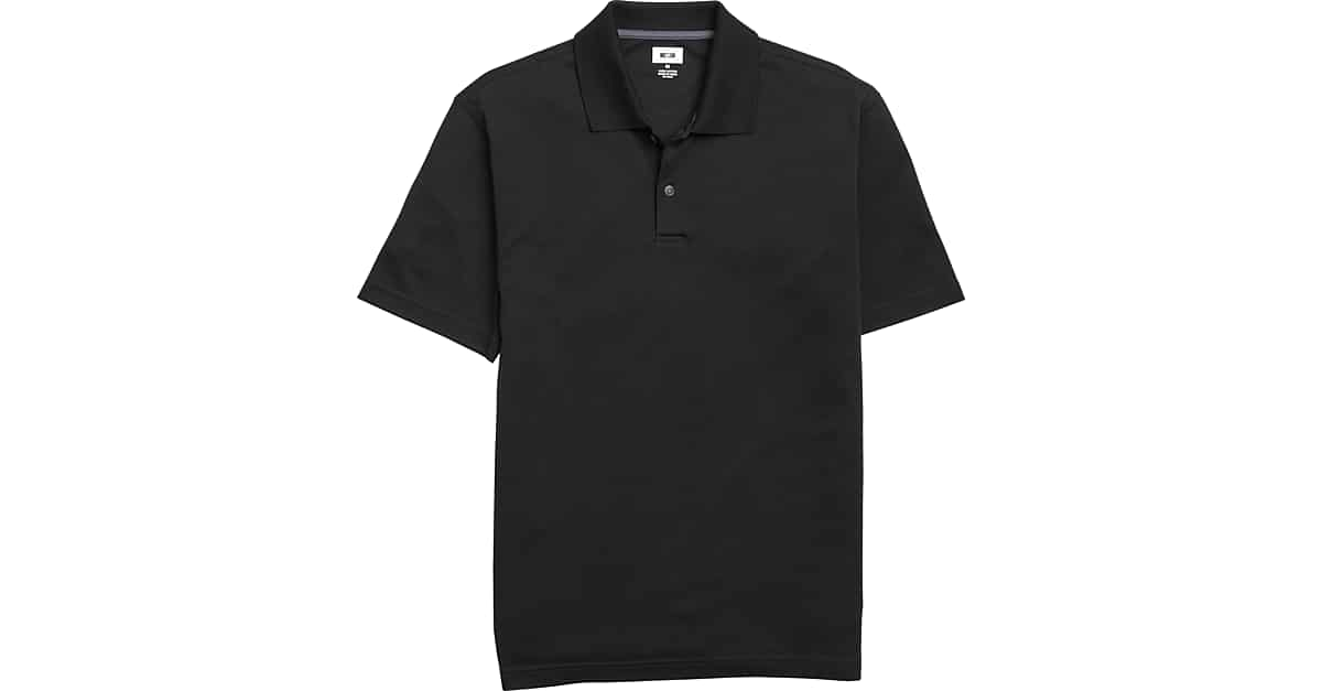 Joseph Abboud Black Pima Cotton Polo Shirt - Men s  97c8cc6918c6