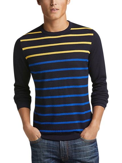 cc8d01051 Mens Black Ribbed Sweater